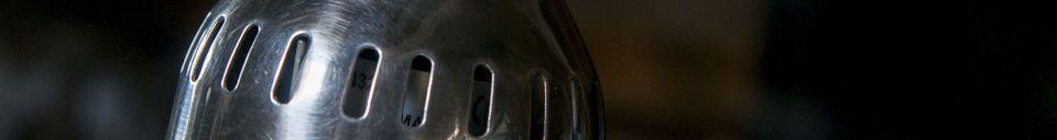 Material Details Silver pendant lamp Olonne