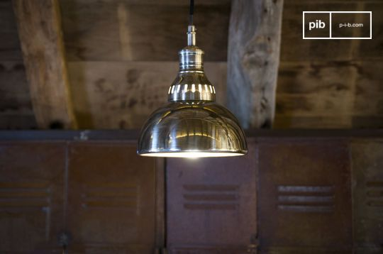 Silver pendant lamp Olonne