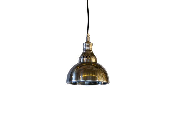 Silver pendant lamp Olonne Clipped