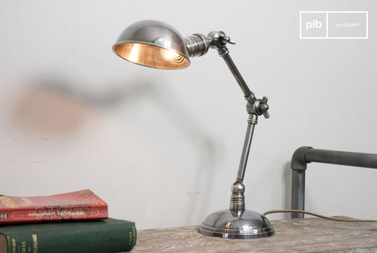 Silver-plated double-arm light