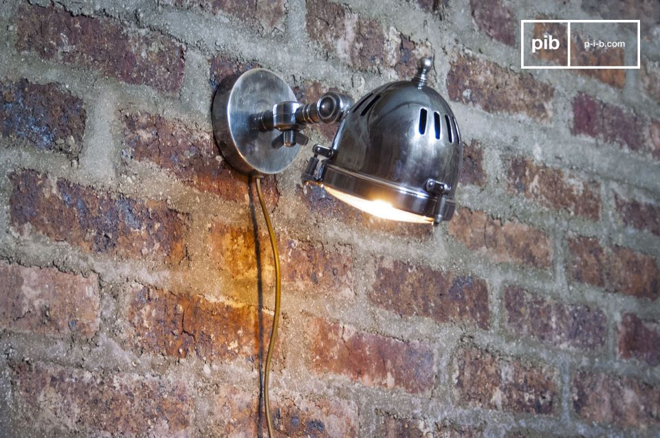 This lamp is of the industrial lighting style