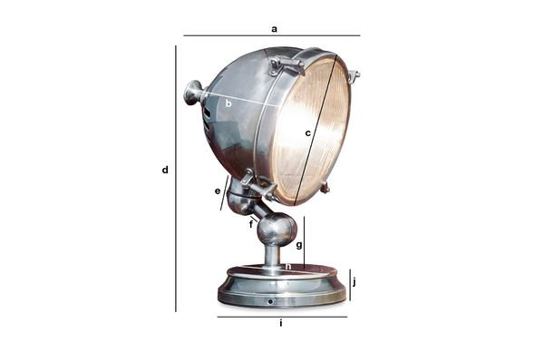 Product Dimensions Silver-plated lamp