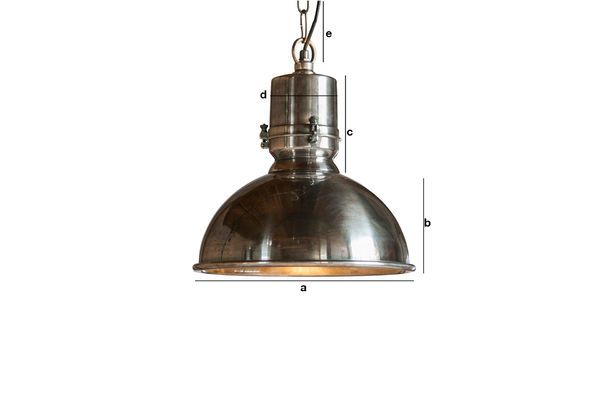 Product Dimensions Silver suspension Lynce