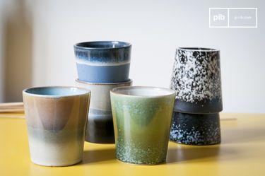 Six Ceramix coffee cups