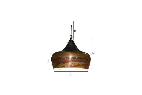 Product Dimensions Skaal pendant lamp