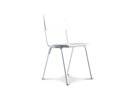 Skole white chair Clipped