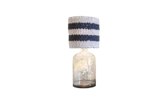 Small lampshade Paimpol grey Clipped