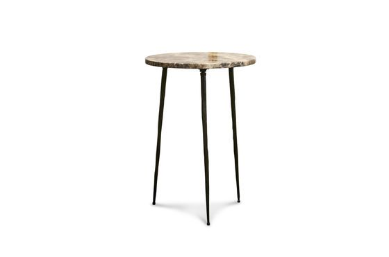Small marble side table Vilma Clipped