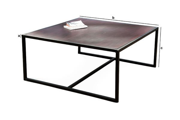 Product Dimensions Smoke coffee table