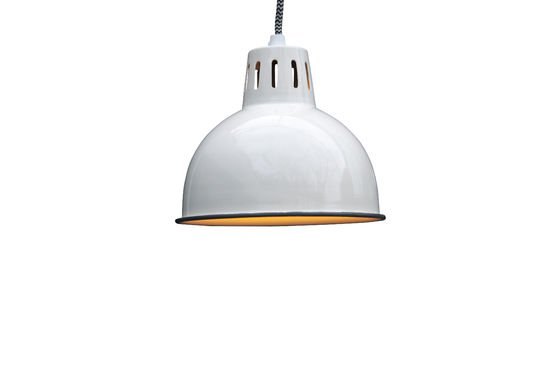 Snöl White Hanging Light Clipped