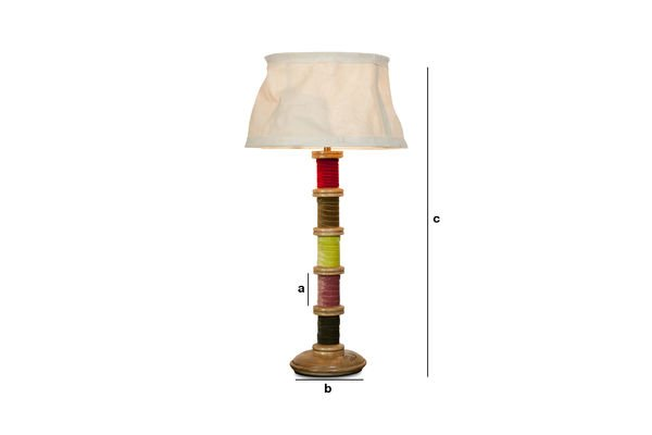 Product Dimensions Soft Mercery lamp