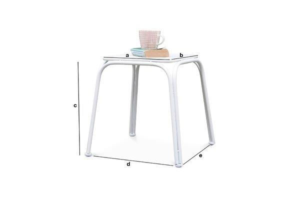 Product Dimensions Sollävik Stool