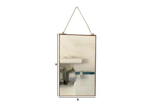 Product Dimensions Solliès-Pont Mirror