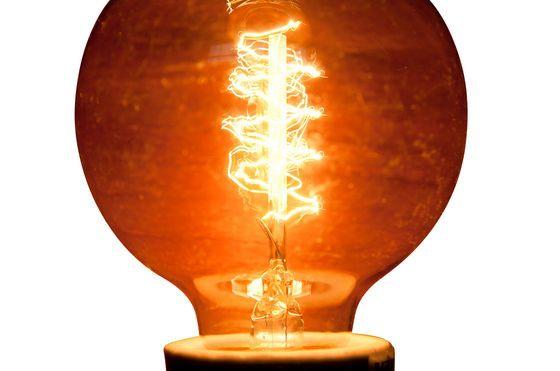 Spiral filament bulb Clipped