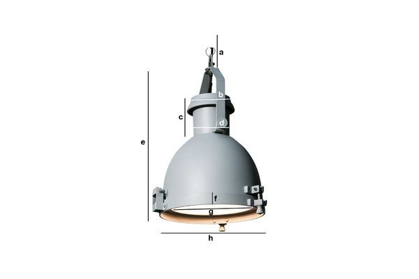 Product Dimensions Spitzmüller Grand hanging light