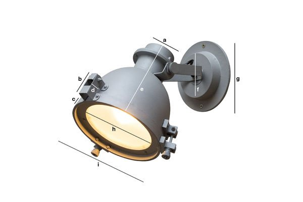 Product Dimensions Spitzmüller wall lamp