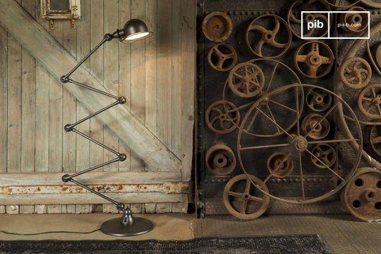 Standard lamp Jieldé Loft hammered