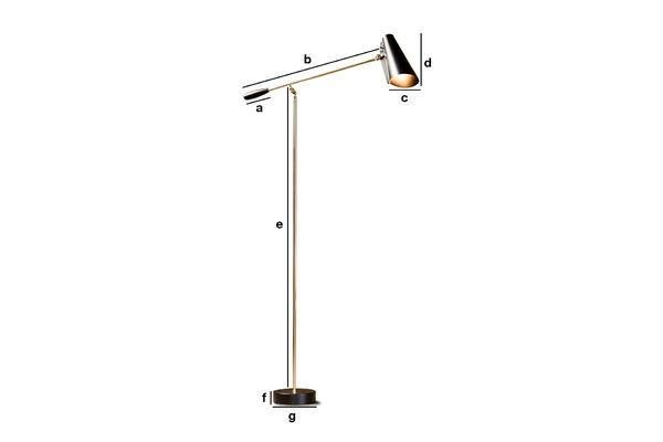 Product Dimensions Standard lamp Memphis