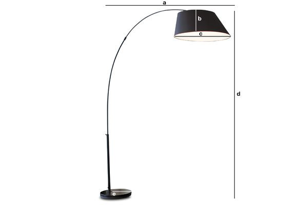 Product Dimensions Standard Nexö lamp