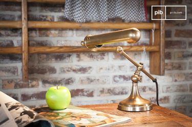Stanford brass desk lamp