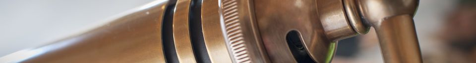 Material Details Stanford brass desk lamp