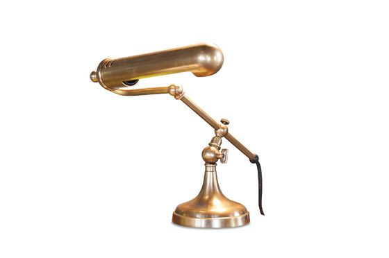 Stanford brass desk lamp Clipped