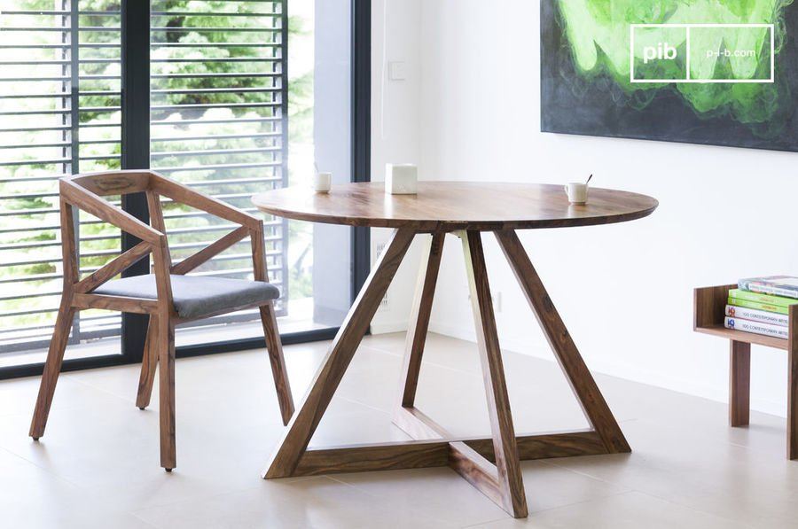 Retro table scandinave design