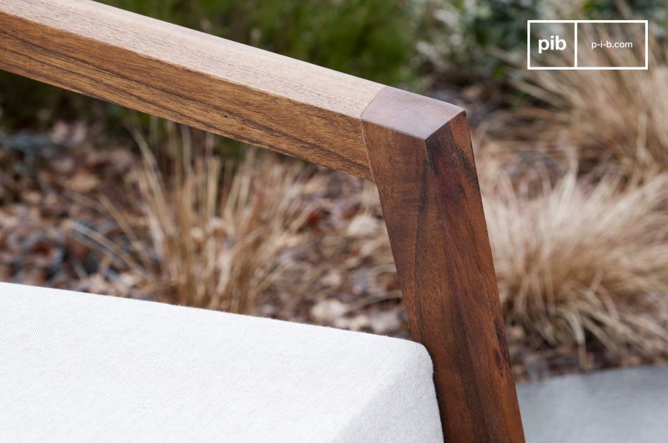 Appreciate the fine work on the edges of its armrests and legs and the golden colour of the