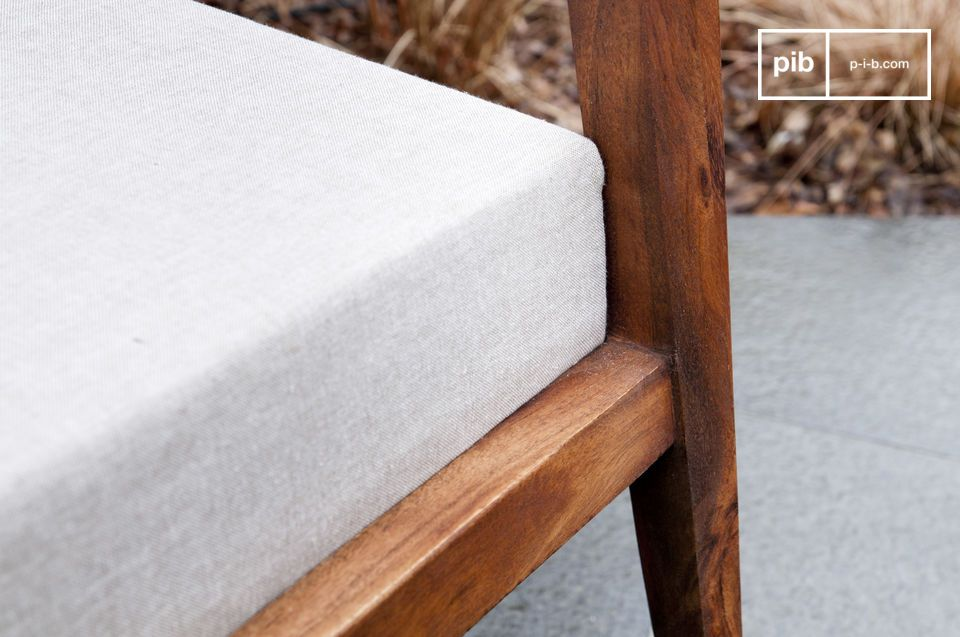 The Stockholm armchair\'s seat and back are filled with dense foam