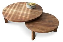 Stockholm coffee table double tabletop