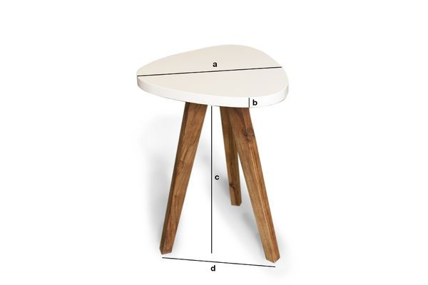 Product Dimensions Stockholm occasional table