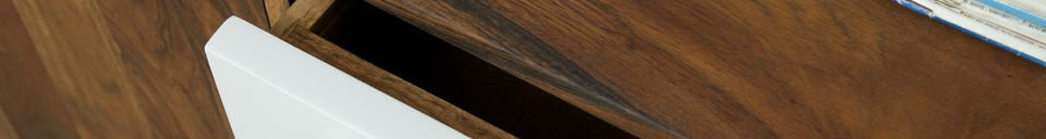 Material Details Stockholm sideboard