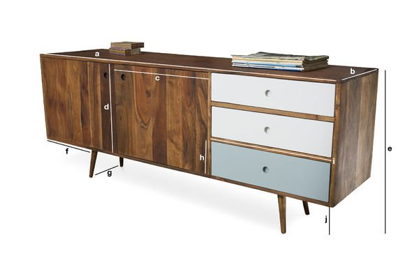 Product Dimensions Stockholm sideboard