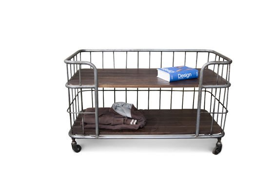 Storage trolley Remember Clipped