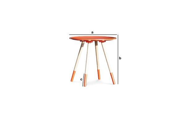 Product Dimensions Sukät occasional table