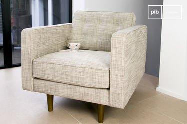 Svendsen beige armchair