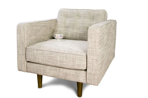 Svendsen beige armchair Clipped