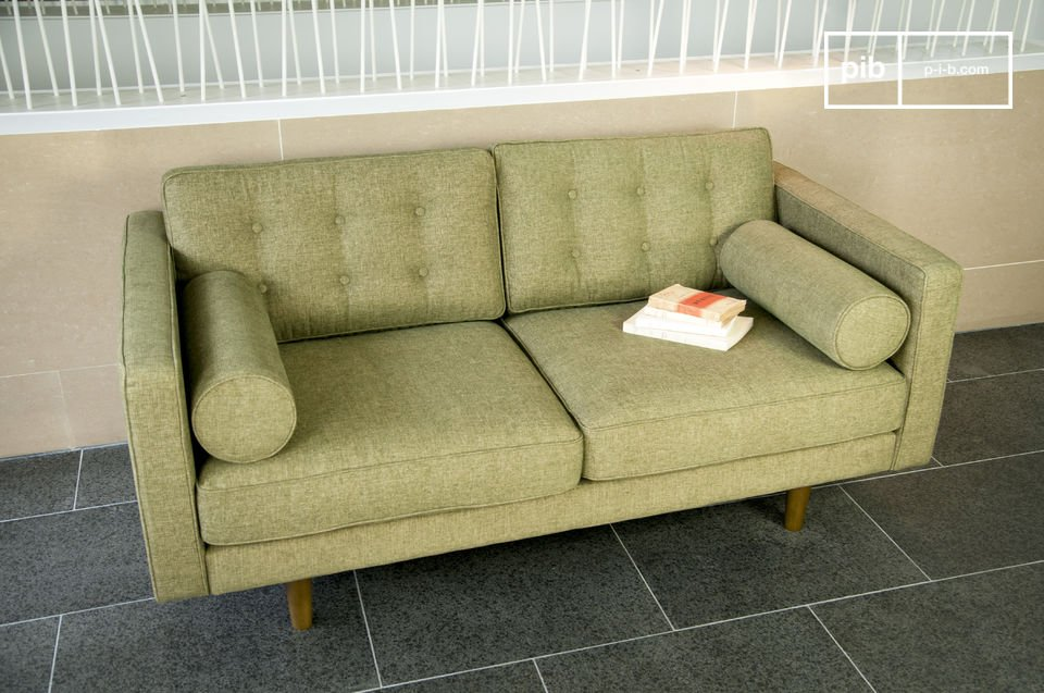 This sofa will be perfect in a retro design interior, or equally in a contemporary setting with design furniture