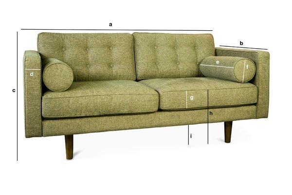 Product Dimensions Svendsen sofa