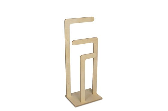 Sweden wooden clothes stand Clipped