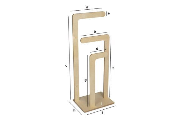 Product Dimensions Sweden wooden clothes stand