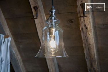 Sweet Bell Glass Pendant light