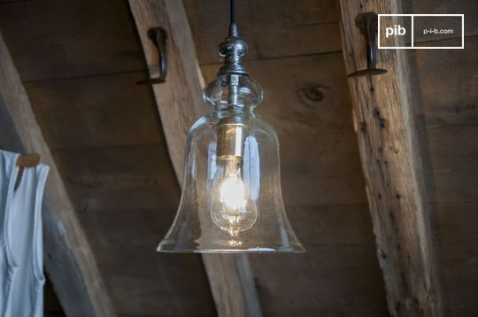 Sweet Bell Glass Pendant light