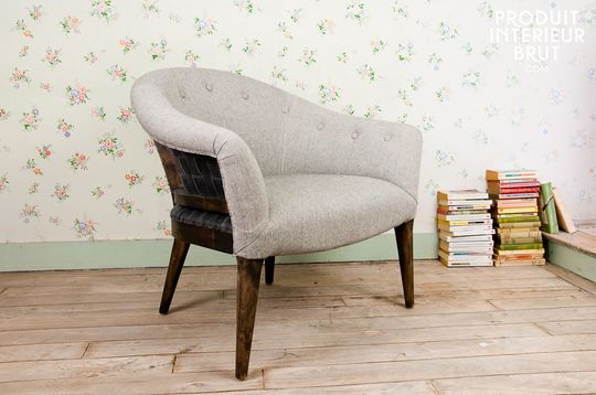 Sweet Grey armchair