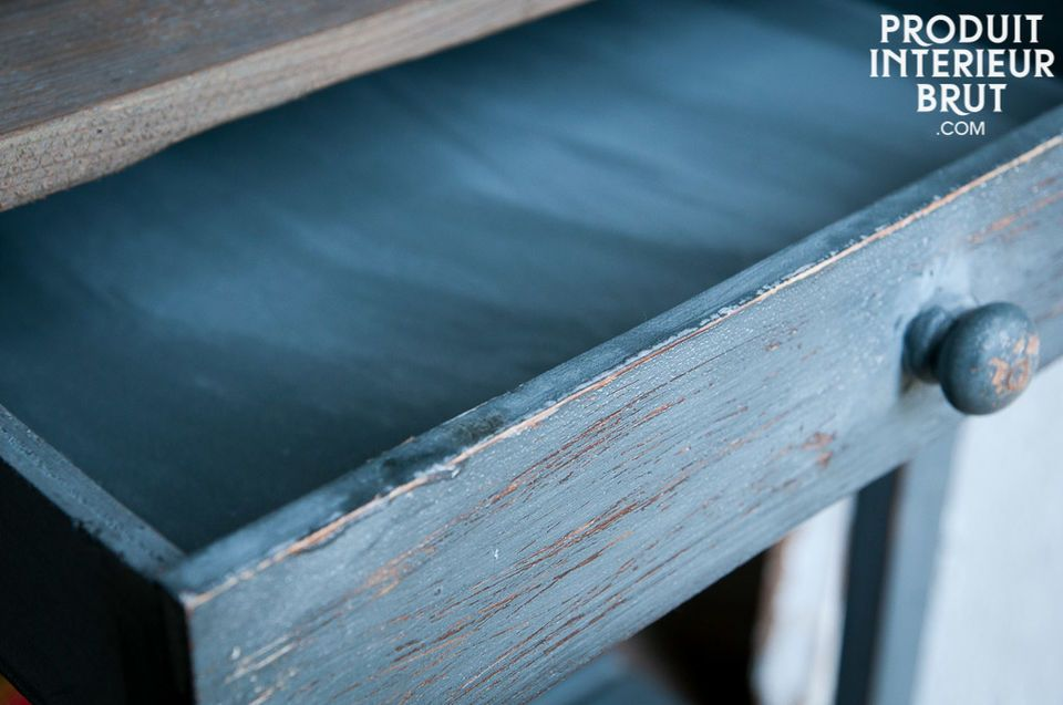 The unbelievable charm of a small patinated furniture piece