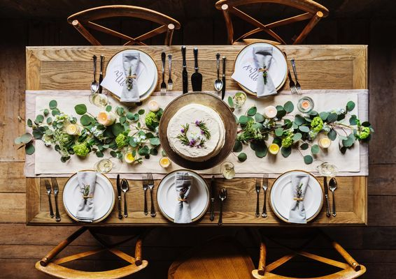 Creative Spring Table Decorations
