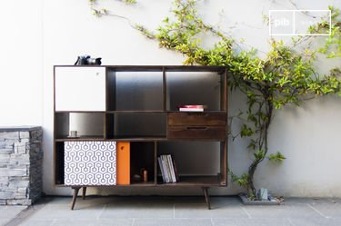 Tall Londress sideboard