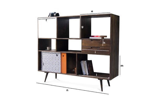 tall londress sideboard slightly varnished rosewood pib. Black Bedroom Furniture Sets. Home Design Ideas