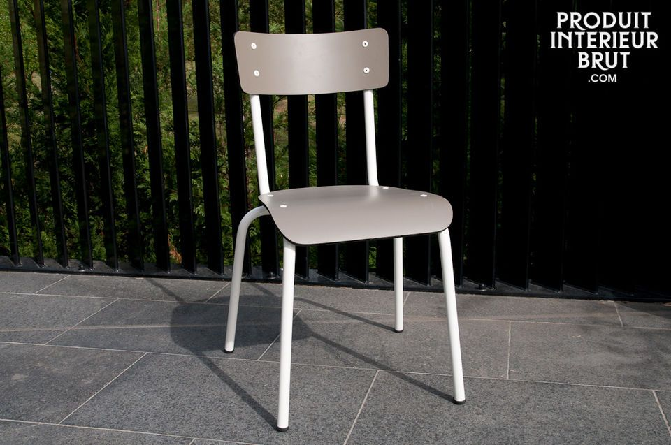 Taupe Gambettes chair