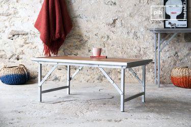 Teak coffee table Bollène
